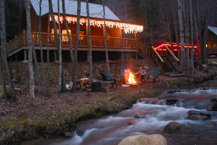 christmas at lands creek - Cabins Decorated For Christmas